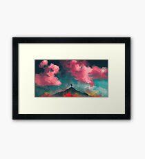 Anxieties Away Framed Print