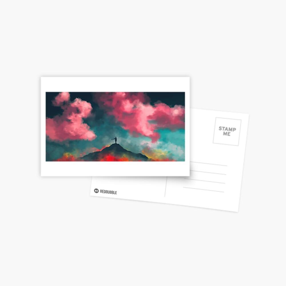 Anxieties Away Postcard