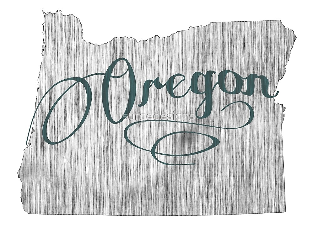 Oregon State Typography by surgedesigns