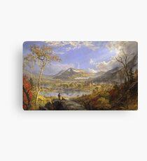 Jasper Francis Cropsey - Starrucca Viaduct, Pennsylvania Canvas Print
