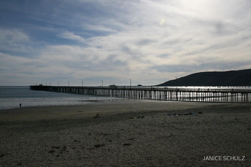 Avila Pier. Avila Beach, CA by JANICE SCHULZ