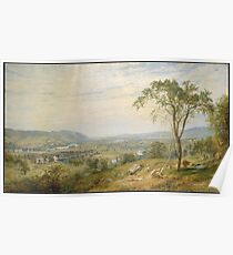 Jasper Francis Cropsey - The Valley Of Wyoming Poster