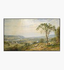 Jasper Francis Cropsey - The Valley Of Wyoming Photographic Print