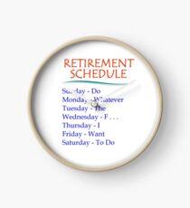 Reloj Regalos de jubilación para hombres y mujeres Calendario de jubilación
