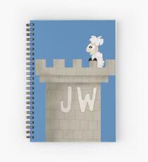Watchtower with Sheep Spiral Notebook