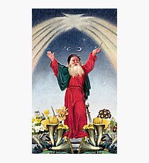 THE MAGICIAN TAROT CARD Photographic Print