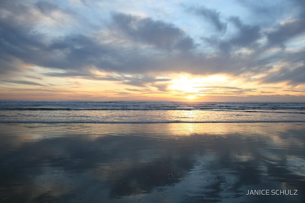 Pismo Beach, California Sunset, 2007. by JANICE SCHULZ