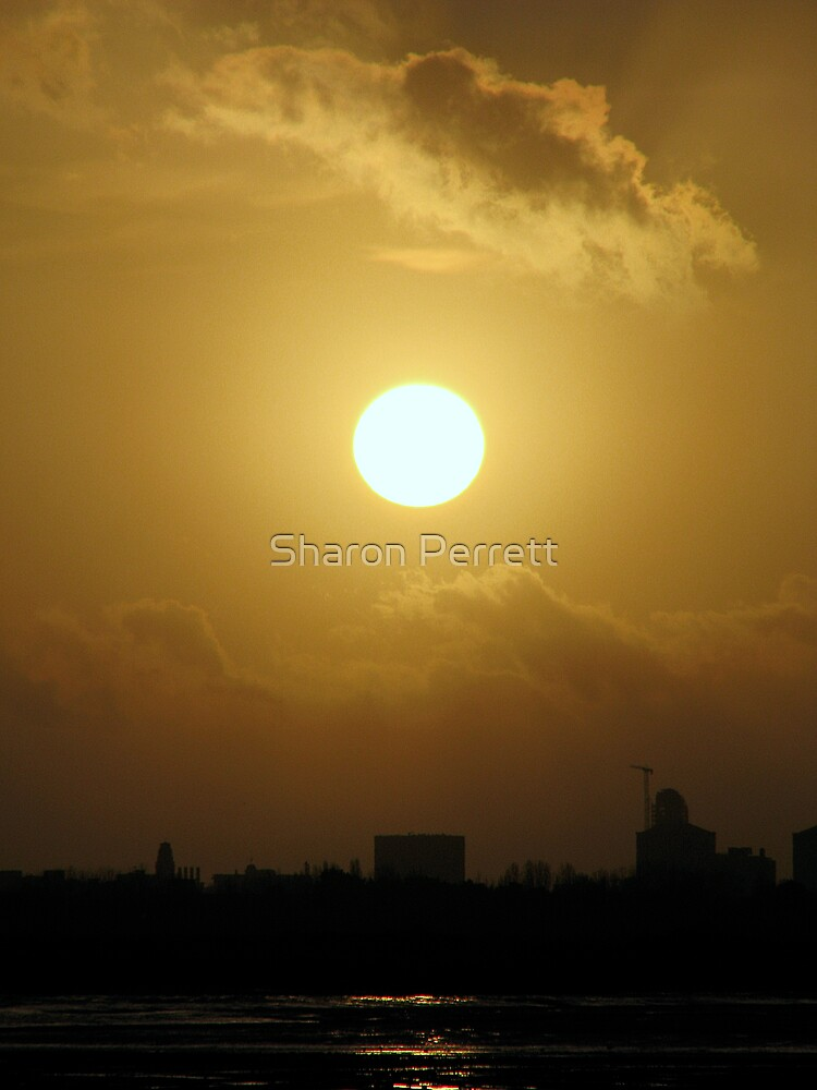 Sunset 1 07-01-08 by Sharon Perrett