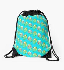 Flip Flop Frenzy Drawstring Bag