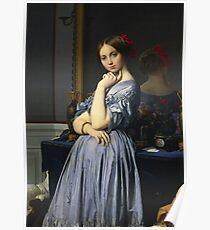 Jean - Auguste - Dominique Ingres - Comtesse D Haussonville Poster