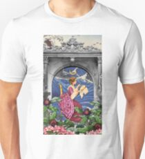 THE PRIESTESS TAROT CARD Unisex T-Shirt