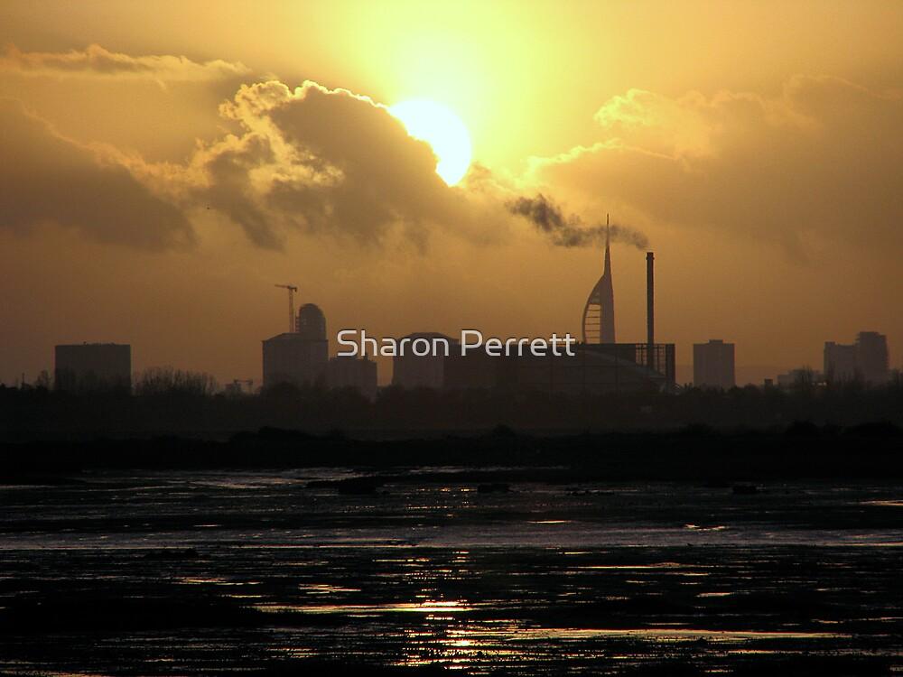 Sunset 2 07-01-08 by Sharon Perrett