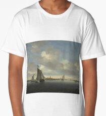 Ships on the ocean Long T-Shirt