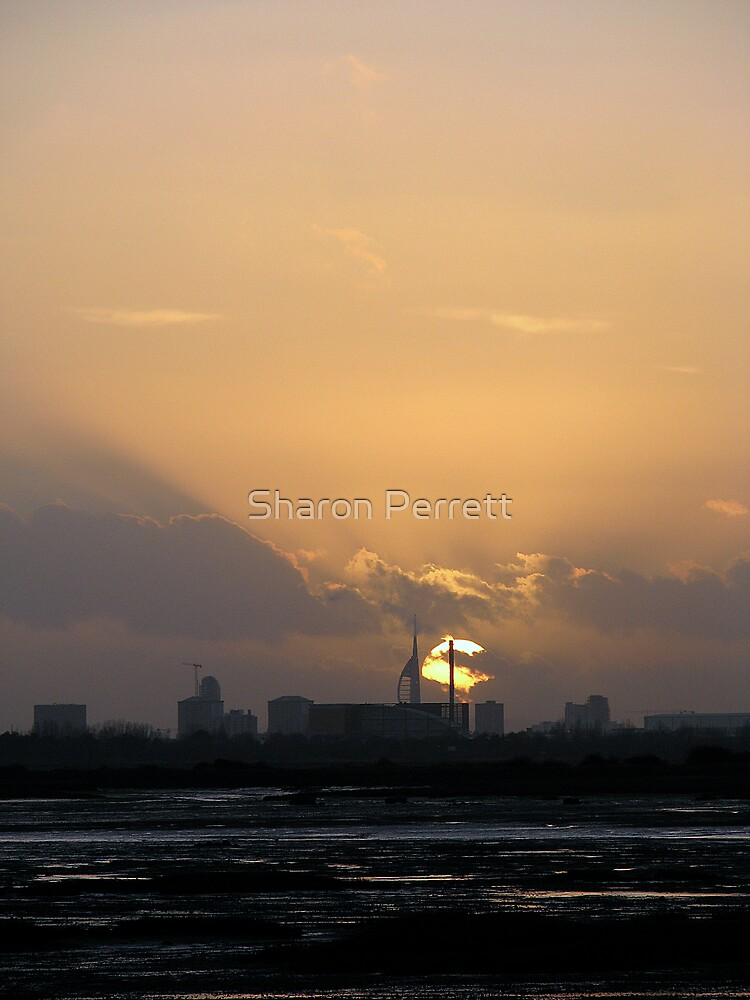 Sunset 3 07-01-08 by Sharon Perrett