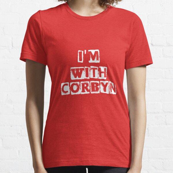 Ich bin mit CORBYN Essential T-Shirt