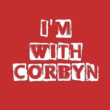 I'm With CORBYN by LiseBriggs