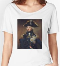 Royal Navy - Admiral Horatio Nelson Women's Relaxed Fit T-Shirt