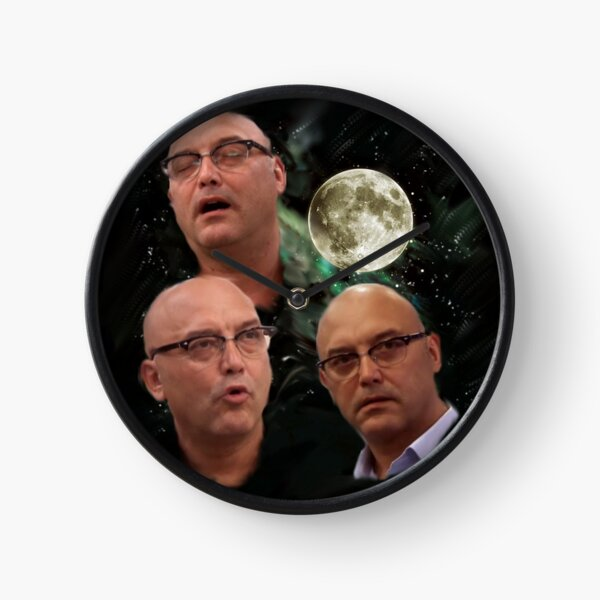 Three Gregg Wallace Moon Clock