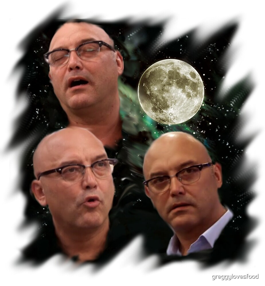 Three Gregg Wallace Moon by greggylovesfood