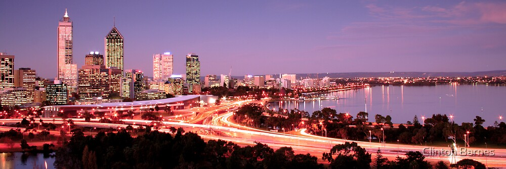 Perth Twighlight by Clinton Barnes