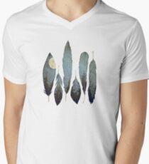 Forest Birds Men's V-Neck T-Shirt