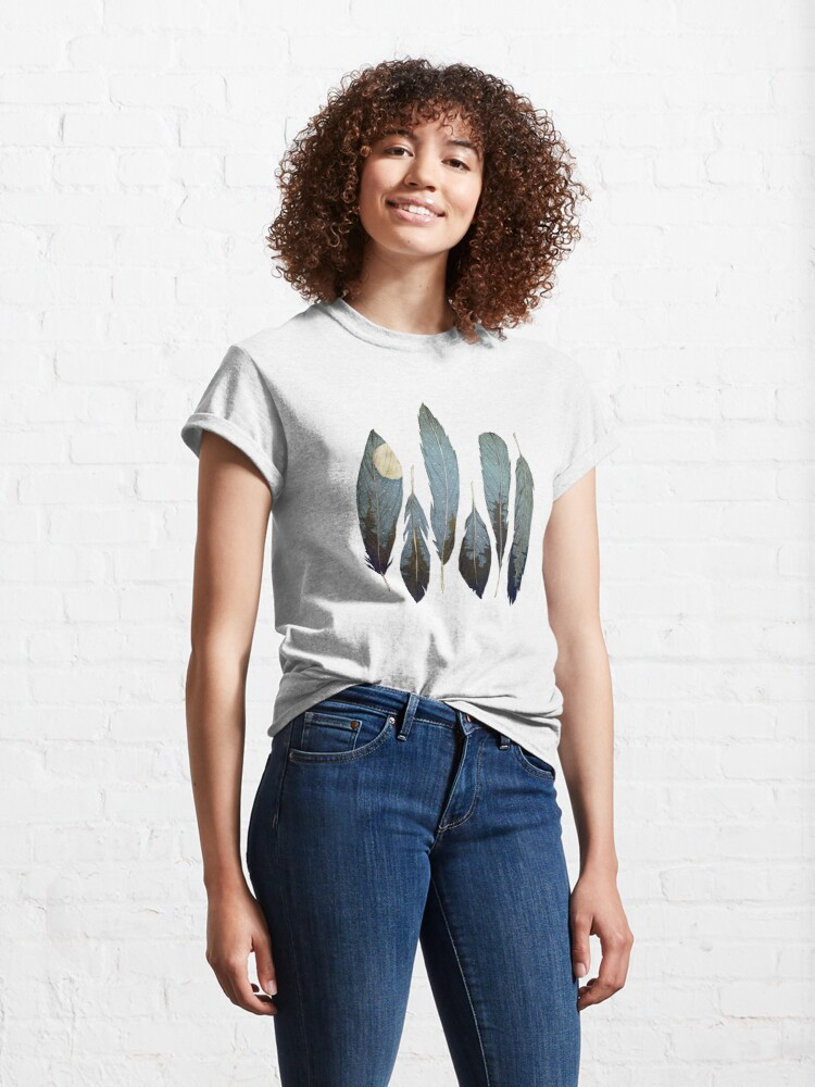 Alternate view of Forest Birds Classic T-Shirt