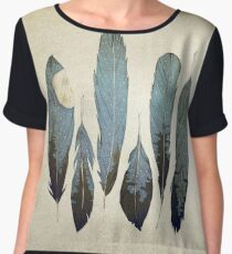 Forest Birds Women's Chiffon Top