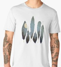 Forest Birds Men's Premium T-Shirt