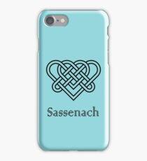 Sassenach Double Celtic Love Knot iPhone Case/Skin