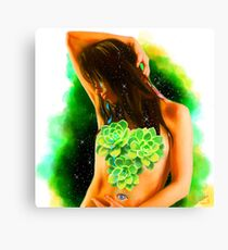 Divine Feminine 3 ( Let Your Tears Water Your Growth ) Canvas Print