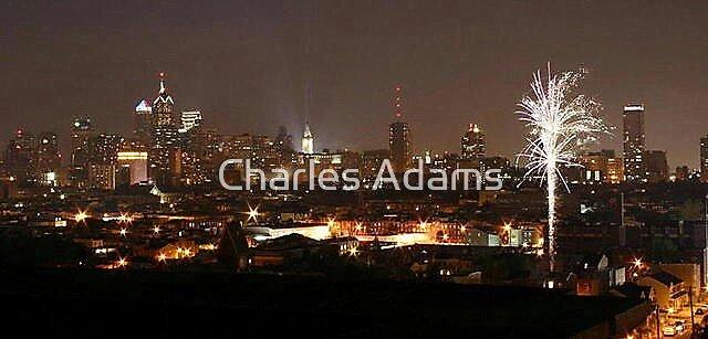 Fireworks by Charles Adams