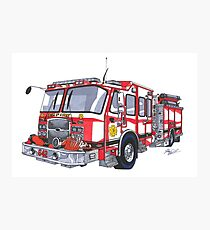 firetruck drawing gifts merchandise redbubble