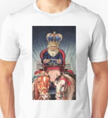 THE CHARIOT TAROT CARD Unisex T-Shirt