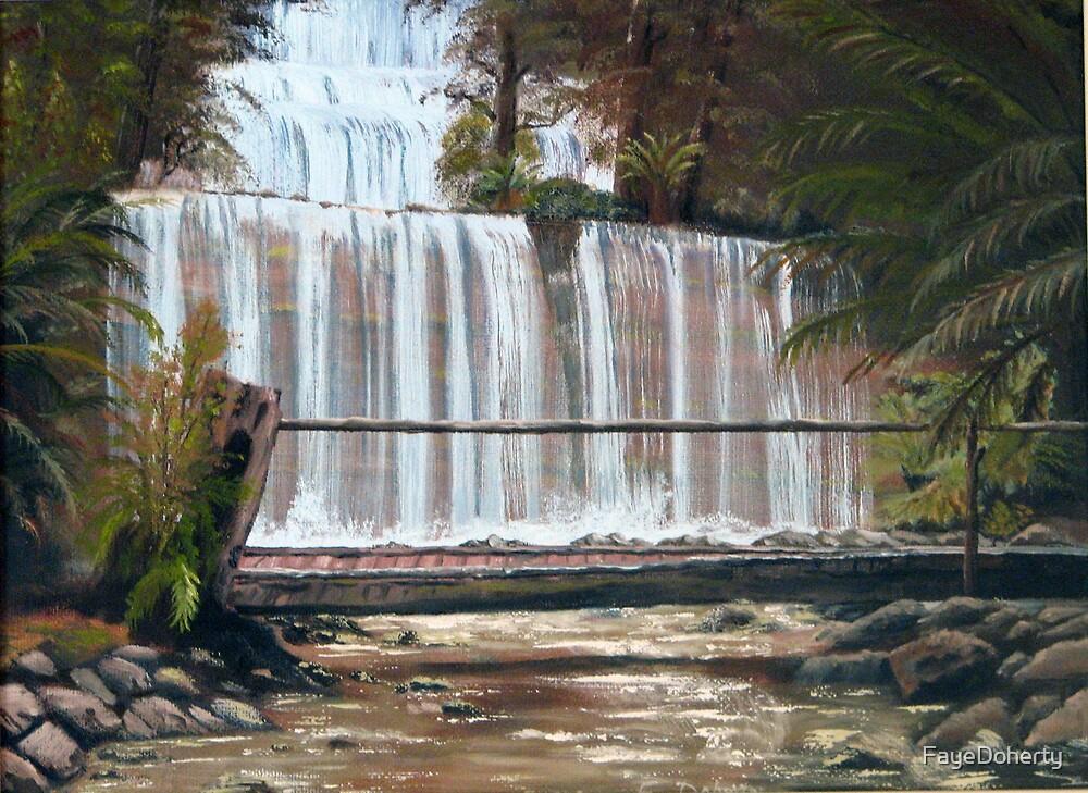 Russell Falls, Tasmania by FayeDoherty