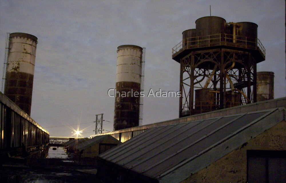 Abandoned Rooftop by Charles Adams