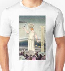 JUSTICE TAROT CARD Unisex T-Shirt
