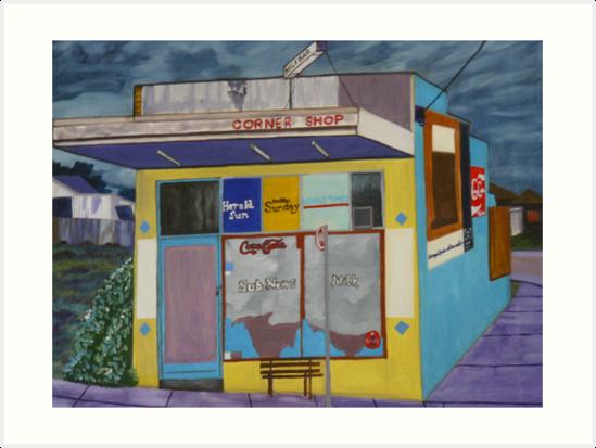 Corner Shop by Joan Wild