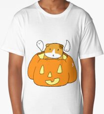 Jack O' Lantern Guinea Pig Long T-Shirt