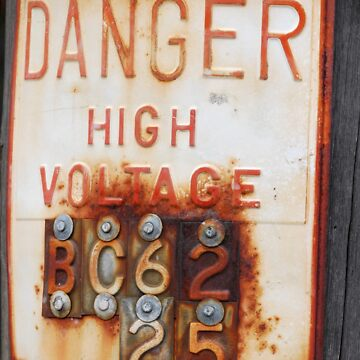 high voltage by eyes