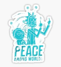 Peace Among World Sticker