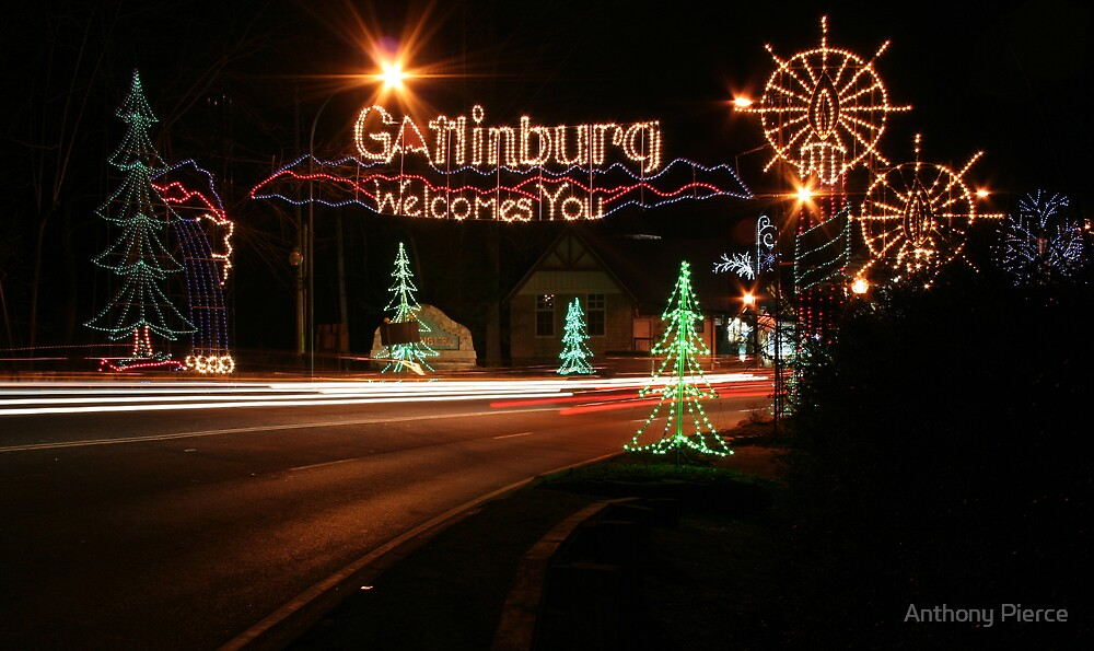 Welcome To Gatlinburg by Anthony Pierce