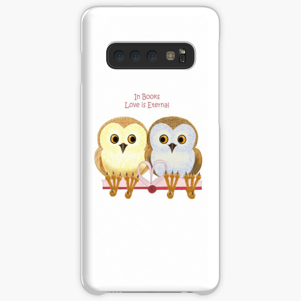 In Books Love Is Eternal Cases & Skins for Samsung Galaxy
