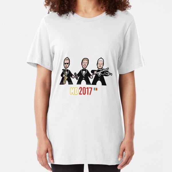 Moldova 2017 Slim Fit T-Shirt