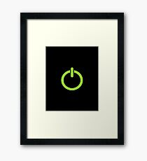 Power Up! Framed Print