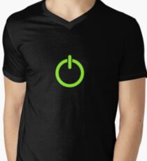 Power Up! Men's V-Neck T-Shirt