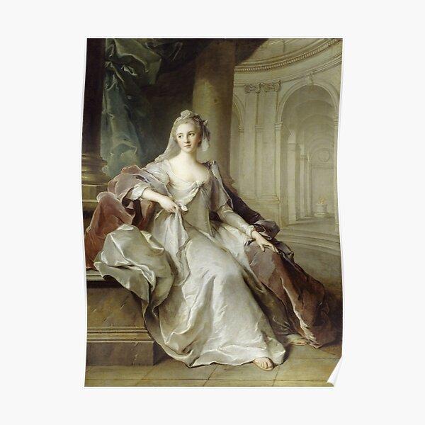 Jean - Marc Nattier - Madame Henriette De France As A Vestal Virgin Poster
