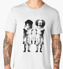 pennywise clown dancing movie creepy redrum horror king Men's Premium T-Shirt