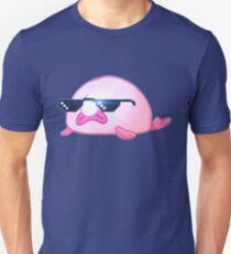 Cool Blobfish with Sunglasses Unisex T-Shirt