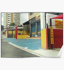 Cityscape Sao Paulo Brazil Poster