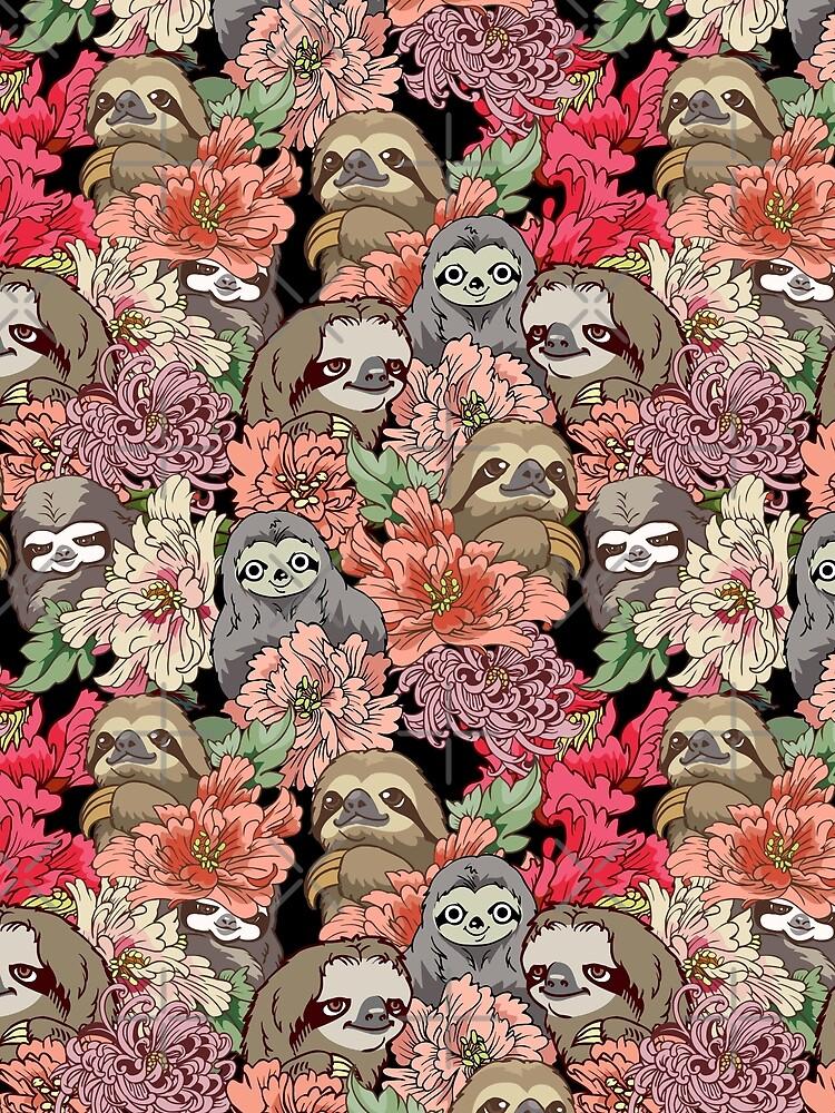 Because Sloths by Huebucket
